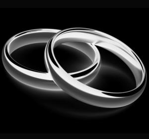 Palladium trouwringen zijn een betaalbaar alternatief voor platina ringen